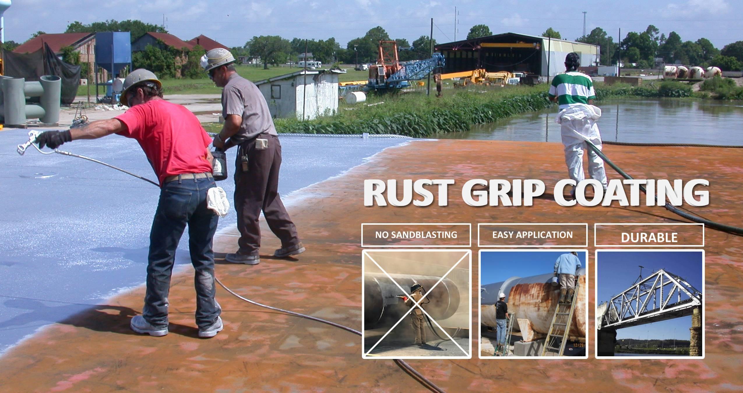 Banner Rust Grip Mahita KArya