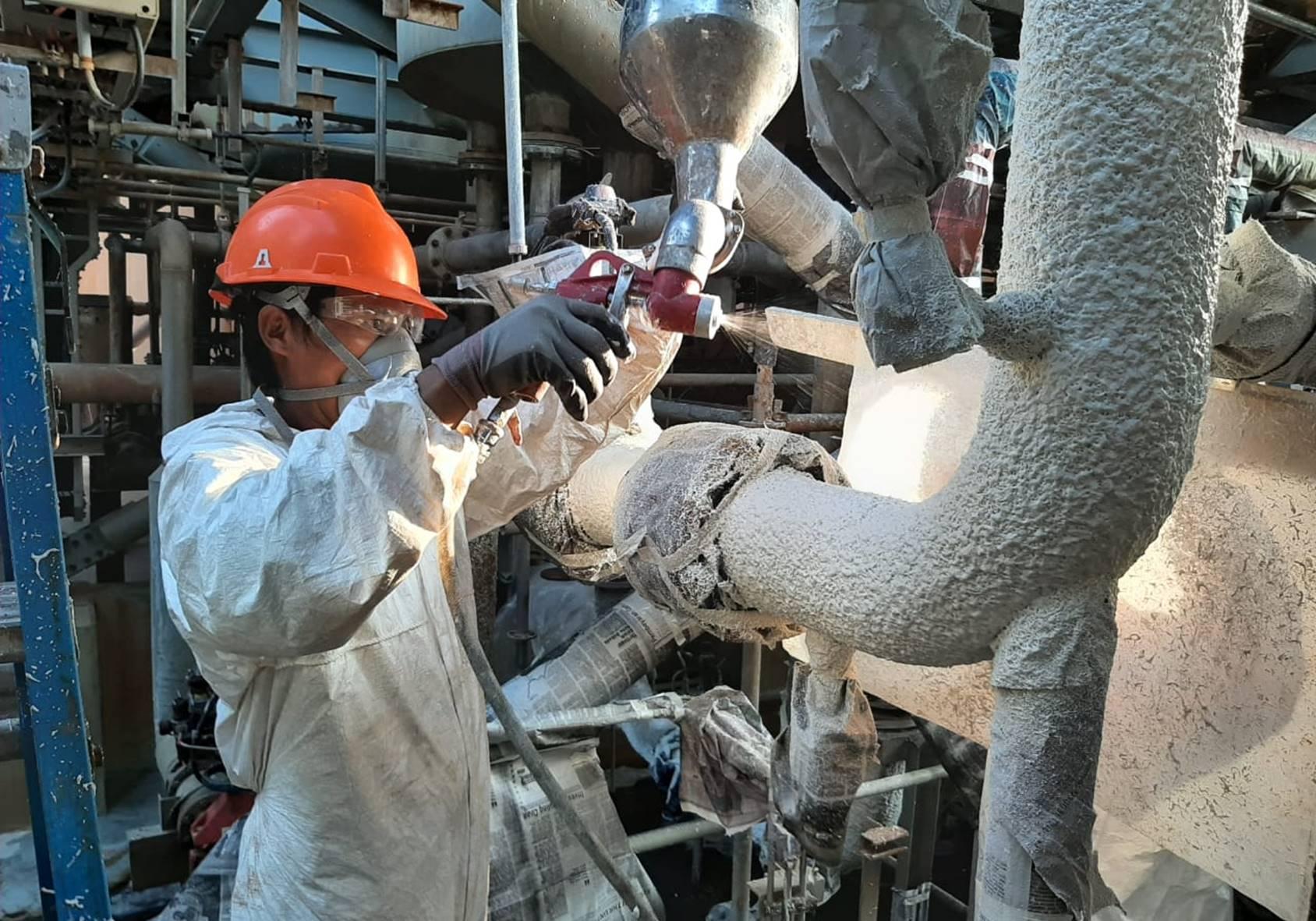 Mahita Karya Termal Insulation ceramics coating